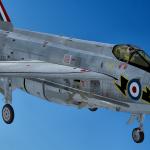 Die JustFlight Lightning F-6 ist im Anflug