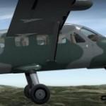 Carenado arbeitet an der Cessna 208B Caravan für X Plane