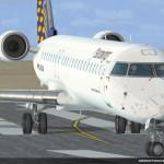 Neue Bilder von der Aerosoft CRJ