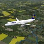 Lufthansa A321 Fleetpackage für den Aerosoft Airbus