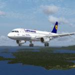 Lufthansa A319 Fleetpackage für den Aerosoft Airbus