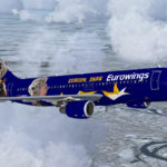Eurowings Europa Park Livery